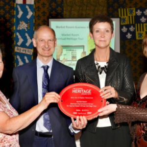 Market Rasen Heritage Tour wins Lincolnshire Heritage Award